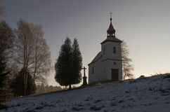 Chapel. Near the Earth gate, Czech republic Stock Photo