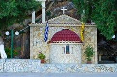 Chapel near Kissamos town, Crete Royalty Free Stock Photography