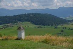 Chapel near Spisska Kapitula, Slovakia Stock Image