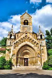 Chapel near the Vajdahunyad Castle in Budapest in Hungary against the blue sky Royalty Free Stock Photography