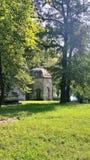Chapel in the city Bihac, Bosnia Herzegovina stock images