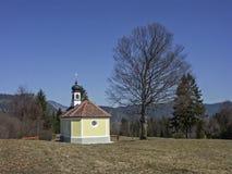 28/5000Chapel nel paese di Werdenfels Fotografie Stock