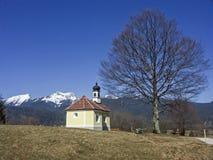 28/5000Chapel nel paese di Werdenfels Immagine Stock