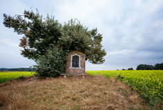 Chapel next to an tree Stock Photography
