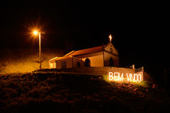 Chapel by night Stock Image