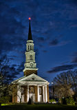 Chapel at night Royalty Free Stock Images
