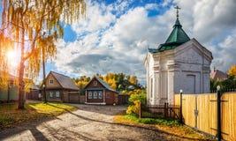 Chapel on Nikolskaya street Royalty Free Stock Images