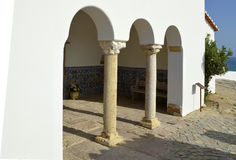 The Chapel of Nossa Senhora da Rocha Royalty Free Stock Images