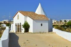 The Chapel of Nossa Senhora da Rocha Stock Photo