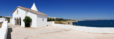 Chapel of Nossa Senhora da Rocha, Portugal - Panorama Picture Stock Photo