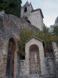 Chapel Notre-Dame de Beauvoir, Moustiers-Sainte-Marie, Frankreich lizenzfreies stockfoto