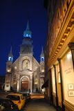 Chapel notre dame de bonsecours in montreal Stock Image