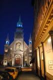 Chapel notre dame de bonsecours in montreal Stock Image