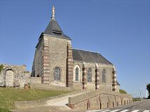 Church of Fécamp in France Stock Images