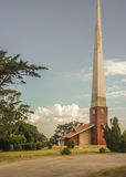 Chapel with Obelisk Stock Photography