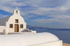 Chapel in Oia on Santorini Stock Photography