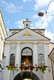 Chapel of Our Lady of the Gate of Dawn, Vilnius royalty free stock images