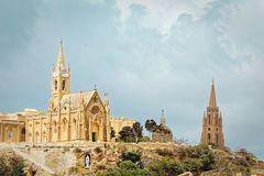 Chapel of Our Lady of Lourdes in Gozo Royalty Free Stock Photo