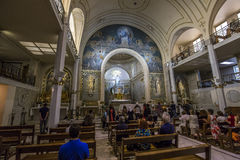 Chapel of Our Lady of the Miraculous Medal, Paris, France Stock Images