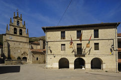 Chapel of Our Lady of the Valley, Monasterio de Rodilla, La Bure Royalty Free Stock Photography