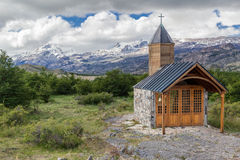 Chapel Patagonia Argentina Royalty Free Stock Image