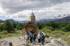 Chapel Patagonia Argentina Stock Image