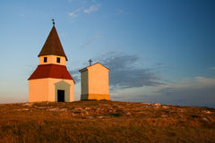 Chapel in the peak Stock Images