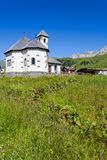 Chapel on the Pellegrino Pass in the mountains - Italy Royalty Free Stock Photos