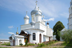 The chapel is Pillar and Cathedral of the great Martyr Nikita in monastery. Pereslavl-Zalessky, Russia Royalty Free Stock Images