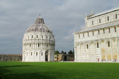 Chapel of Pisa cathedral. Near Leaning Tower of Pisa, Torre pendente di Pisa at Piazza del Duomo Royalty Free Stock Photography