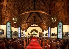 Chapel, Place Of Worship, Interior Design, Arch Stock Photo