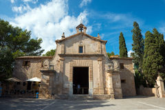 Chapel in Pollenca Royalty Free Stock Images
