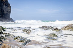 Chapel porth beach Stock Images