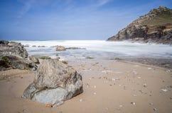 Chapel porth beach Royalty Free Stock Photo