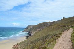 Chapel porth beach,St agnes,Cornwall Stock Image