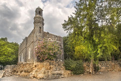 Chapel of the Primacy of Peter, Tabgha, Israel Royalty Free Stock Image