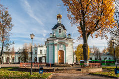Chapel. Pskov. Russia. Royalty Free Stock Images