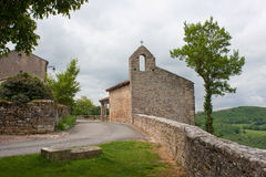Chapel of Puycelsi Stock Image