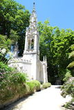 The chapel of Quinta da Regaleira, Sintra, Portugal Royalty Free Stock Photo