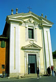 Chapel of Quo Vadis Domine, Rome, Italy Royalty Free Stock Images
