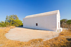 Chapel, Rhodes island, Greece Stock Photography