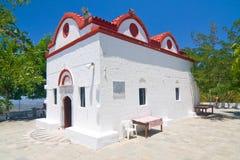 Chapel, Rhodes island, Greece Stock Photo