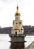 Chapel on the River Dnieper, Kiev Stock Images