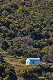 Chapel on a roadside in Greece Royalty Free Stock Photo