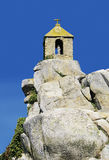 Chapel on rock Royalty Free Stock Photography