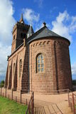 Chapel of the Rock, Dabo. The Rock of Dabo in Moselle Royalty Free Stock Photo
