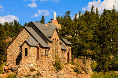 Chapel On The Rock Stock Images