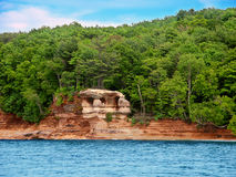 Chapel Rock Lake Superior Stock Photo