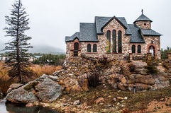 Chapel on the Rock Stone Chruch - Estes Park Royalty Free Stock Images