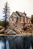 Chapel on the Rock Stone Chruch - Estes Park Stock Photography